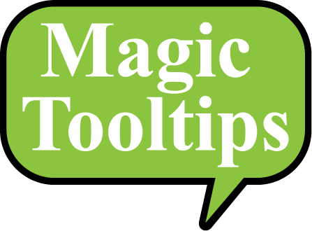 Magic Tooltips For Contact Form 7 Magic Tooltips For Contact Form 7 Logo